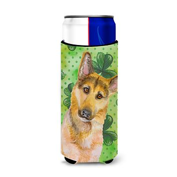 German Shepherd #2 St Patrick's Michelob Ultra Hugger for slim cans BB9885MUK