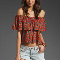 MINKPINK Marianne Floral Strapless Top in Multi at Revolve Clothing - Free Shipping!