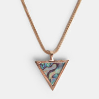 All-Knowing Triangle Necklace