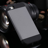 Only $0.99 TPU + PC Hybrid Case For iphone 4 4s Slim Tough Ultra Thin Protective Phone Cover Armor Case for iphone4