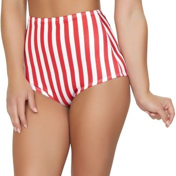 Roma RM-SH3090 Pinup Style High-Waisted Shorts