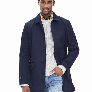 Banana Republic Mens Navy Mac Jacket