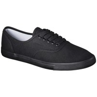 Women's Mossimo Supply Co. Lunea Canvas Sneaker -  Black/Black
