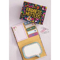 Kindness Matters Sticky Notes Book