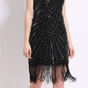Women's 1920s Gatsby Dress Formal Cocktail