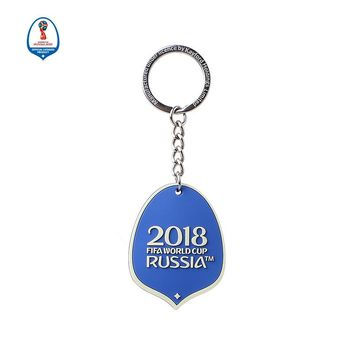 World Cup Russian PVC Double Mascot Key chain - Official Mascot