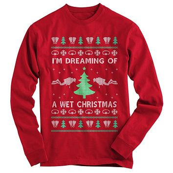 Scuba Ugly Christmas Sweater