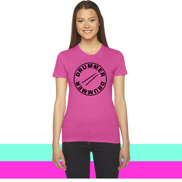 Drummer - drumsticks women T-shirt