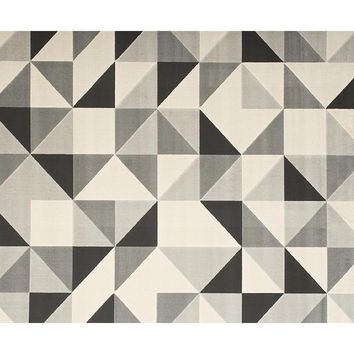 Tessellated Area Rug GRAY