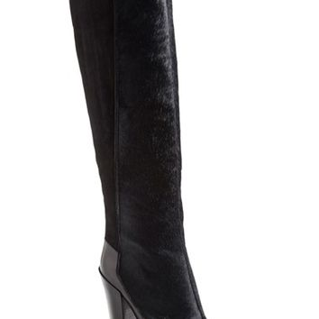 Women's 10 Crosby Derek Lam 'Carmen' Genuine Calf Hair Boot,