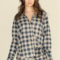 ACACIA - Olinda Pajama Set | Blue Check