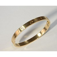 Cartier 18kt Yellow Gold Love Bracelet - Authentic