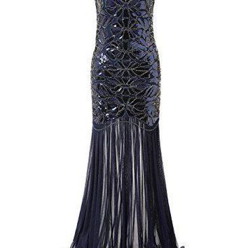 Mermaid Style Flapper Long Party Cocktail Dresses