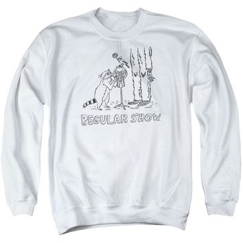 The Regular Show - Tattoo Art Adult Crewneck Sweatshirt