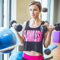 WEB EXCLUSIVE: Flawless Graphic Gym Tank