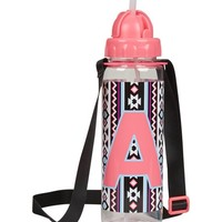 INITIAL BRIGHT TRIBAL WATER BOTTLE | GIRLS {CATEGORY} {PARENT_CATEGORY} | SHOP JUSTICE