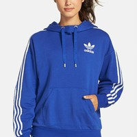 Women's adidas Originals 3-Stripes Pullover Hoodie,