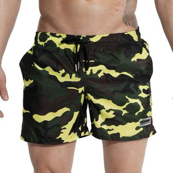 Swimwear Men Summer Swimming Shorts for Men Surf Swim Wear Shorts Beach Trunks Camouflage Quick Dry Swimsuit Man