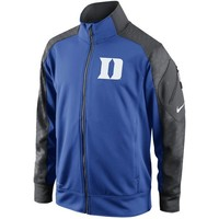 Nike Duke Blue Devils Fly Speed Full Zip Performance Jacket - Royal Blue