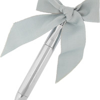 Lanvin | Love bow-embellished pen  | NET-A-PORTER.COM