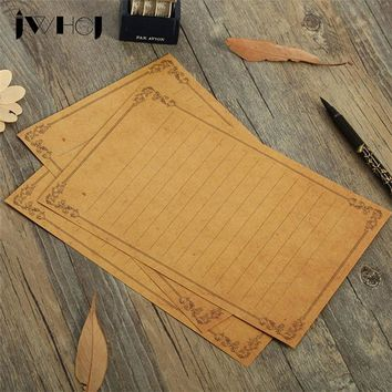 8 sheet/lot JWHCJ Europe type vintage vines Wood grain Kawaii letter paper Letter pad writing paper Office&School Supplie