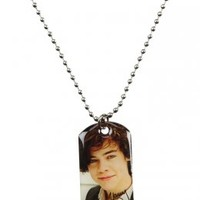 1D Harry Dogtag Necklace | Necklaces | Jewelry | Shop Justice