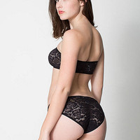 Dahlia Lace Shirred Panty