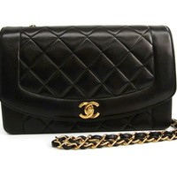 Chanel Neo Matrasse A02800 Women's Leather Shoulder Bag Black BF312175