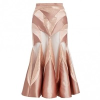 Tamer Metallic Tinsel Skirt - COMING SOON - Ready To Wear - The Latest