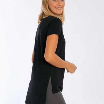 Miami Style® - Women's Oversized Tee with side Slits