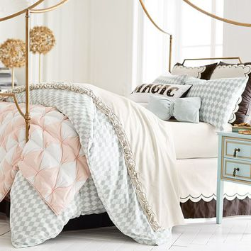 The Emily & Meritt Harlequin Duvet Cover + Sham