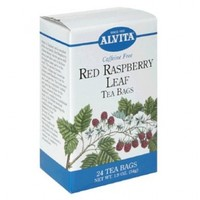 Alvita Organic Red Raspberry Leaf Tea, 24 bags (3 pack)