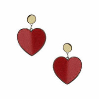 Glitter Heart Earrings - Jewelry - Bags & Accessories