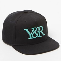 Young & Reckless 24K Matte Snapback Hat - Mens Backpack - Black/Mint - One