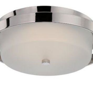 "Nuvo 62-182 - 1-Light 15"" Dome Flush Mount LED Ceiling Lights"