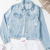 Sit Back And Relax Denim Jacket