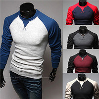 Korean Style Fashion Raglan Shirt