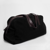 The Suede Weekender Coal