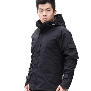 G8 ECWCS Winter Jacket Men Breathable Warm Outdoor Sport Coat Parkas Thickening Hunter Cotton-Padded Jacket
