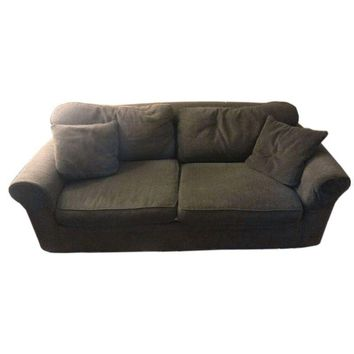 Pre-owned Gray Crate & Barrel Sofa