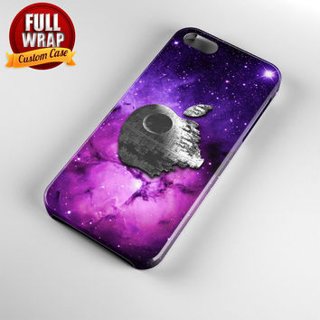 Star Wars Inspired Death Star In Galaxy Full Wrap Phone Case For iPhone, iPod, Samsung, Sony, HTC, Nexus, LG, and Blackberry