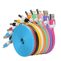 [ 5 Pack ] Charging Charger Cable Cord For iPhone 5, 5S, 5C, SE, 6, 6S, 6 Plus