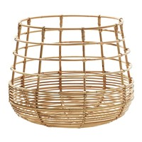 Sweep Rattan Round Basket