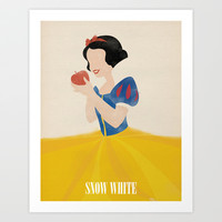 Snow White Art Print by Magicblood