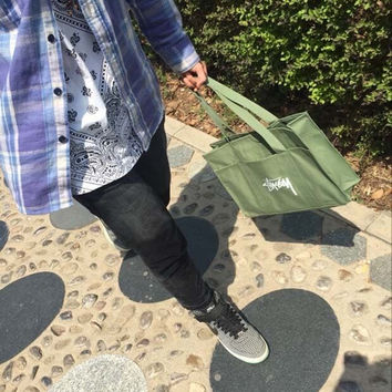 Green Tote Bag Shoulder Bag [10507735239]