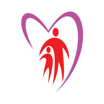 Parent Care and Love Protection Children Logo Design Vector for Your Future Business