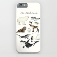 Arctic & Antarctic Animals iPhone & iPod Case by Amy Hamilton