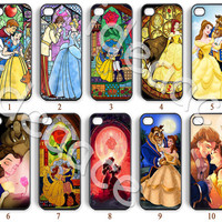 Beauty and the beast, iPhone 5 case, Resin phone cases, Galaxy S4 case, iPhone 5C case, iPhone 4 case, Galaxy S5 case, Note 3 case--N0149
