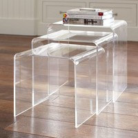 Acrylic Nesting Tables