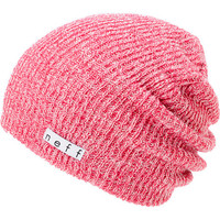 Neff Daily Heather Pink & White Beanie